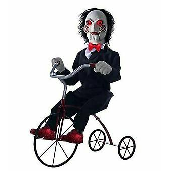 Jigsaw Animated Billy The Puppet Tricycle Trike Moves Lights Up Motion Sensor