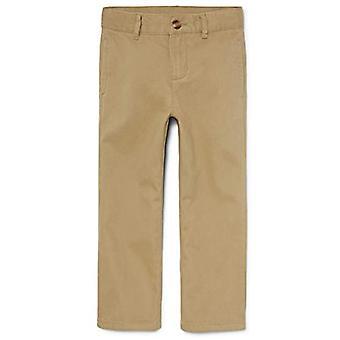 The Childrenăs Place Boysă Husky Uniform Chino Pants, Flax, 6