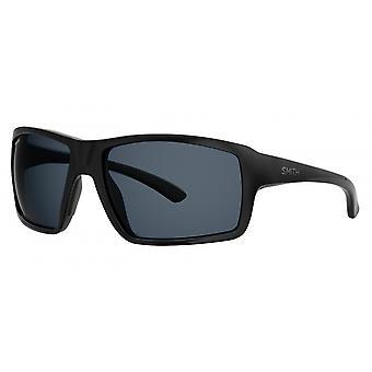 النظارات الشمسية Unisex Hookshot الاستقطاب الأسود / الرمادي
