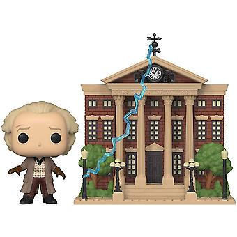 Back to the Future Doc with Clock Tower Pop! Town