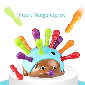 Formazione focalizzata su's Fine Motor Hand-eye Coordination Fight Inserted Hedgehog