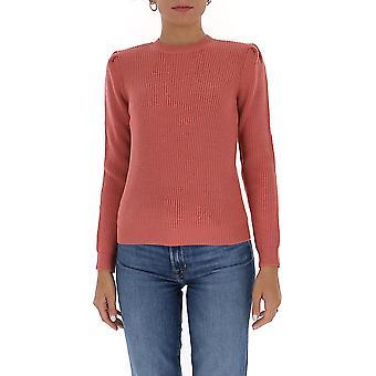 Elisabetta Franchi Mk26s06e2d89 Women's Pink Wool Sweater