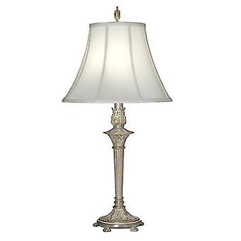 1 lampe de table légère Milano Silver, E27