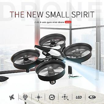 Mini Drone 2.4g 360° Turn Over Aircraft One Key Return Mini Quadcopter Rc Drone Kids Toy Gift