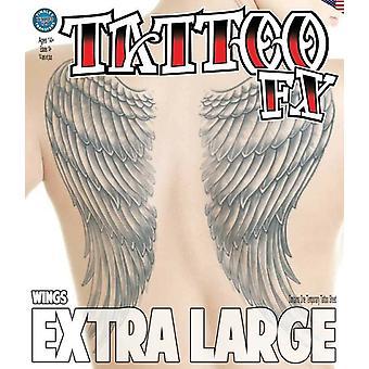 Tinsley transfère des tatouages extra grands (ailes)