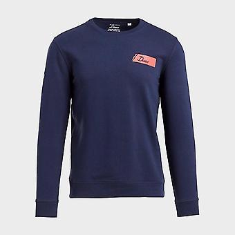New Duco Men's Long Sleeve Training Sweatshirt Blue