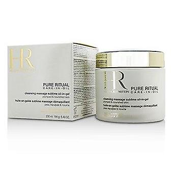 Pure Ritual Care-In-Oil Cleansing Massage Sublime Oil-In-Gel 200ml of 6.49oz