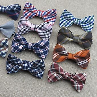 Baby Boys Bow Ties, Adjustable Cotton Slim Shirt Tie Accessories