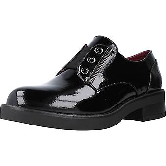 Cafenoir Mocassins Derby Em Vernice Color 010nero