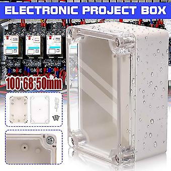 6 Size Waterproof Plastic Enclosure Box Electronic Project Instrument Case Outdoor Junction Box Housing