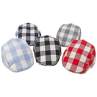 Baby Cotton Linen Handsome Cap, Beret Elastic Kids Hat