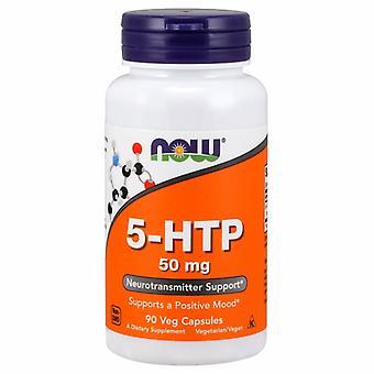 """Now Foods 5-HTP 50 מ""""ג, 90 כמוסות"""