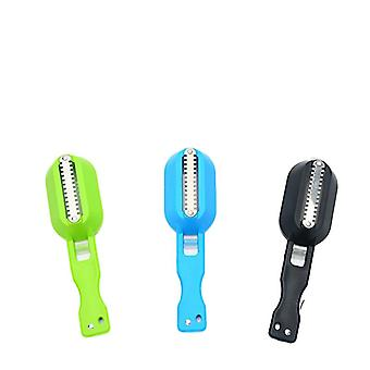 1pc Brush Fishing Scale Kitchen Accessories - Fish Knife Cleaning Peeler