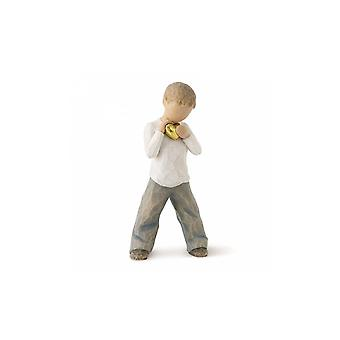 Willow Tree Heart Of Gold (boy) Figurine