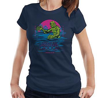 A Criatura da Lagoa Negra Horror Terror Mulheres 'T-Shirt