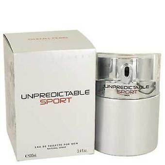 Unpredictable Sport By Glenn Perri Eau De Toilette Spray 3.4 Oz (men) V728-535147