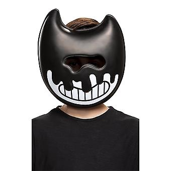 Ink Bendy Half Mask - Child