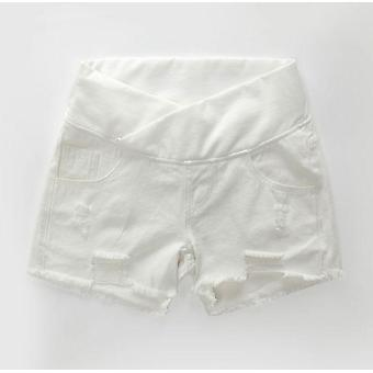 Summer Wlastic Waist Denim Shorts