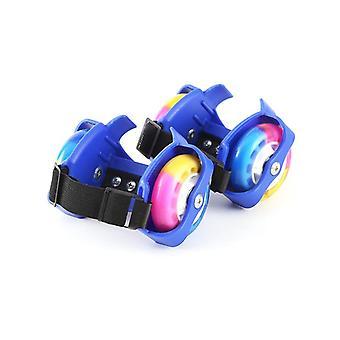 أطفال فلاش عجلات الأحذية وامض الأسطوانة- الاطفال سلامة بكرة كعب