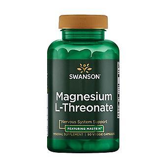 Ultra Magnesium L-Threonate 90 vegetable capsules