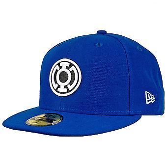 Blaue Laterne Farbe Block neue Ära 59Fifty montiert Hut