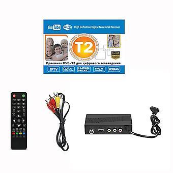 डीवीबी-टी/डीवीबी-टी2 टीवी ट्यूनर रिसीवर-फुल-एचडी 1080p डिजिटल टेलीविजन