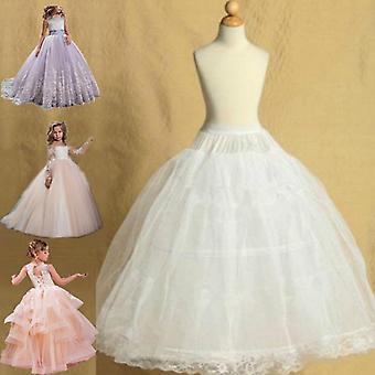 الأطفال Petticoats لفساتين الزهور ليتل Crinoline طوق تنورة لوليتا