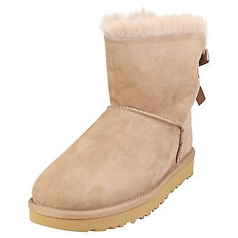 UGG Mini Bailey Bow 2 Womens Classic Boots in Caribou