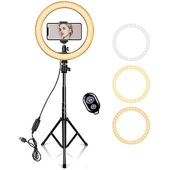 """10"""" Ringlicht mit 59"""" Erweiterbarstes StativStänder & Telefonhalter für YouTube Video"""