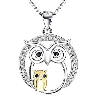 YFN Sterling Silver  Necklace, Cute Animal Pendant Necklaces, Gifts for Girls