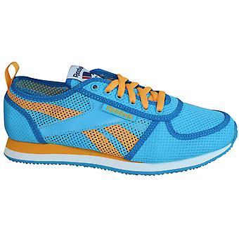 Reebok Royal Jogger Womens Trainers Blue Orange Mesh Lace Up M46457 P0