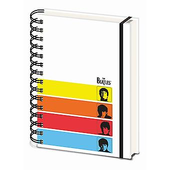 The Beatles A Hard Days Night A5 Wirebound Notebook
