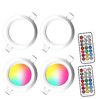 X & Lfc Dimmable Led Spot Light - 220v/110v Color Changing Lamp
