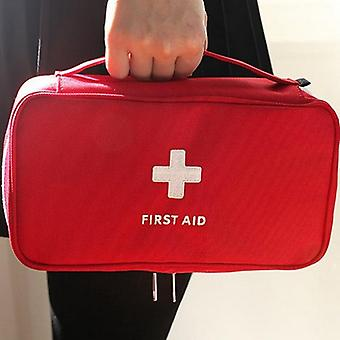 Empty Large First Aid Kit Emergency Medical Box
