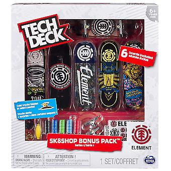 Tech Deck Skate Shop Bonus Pack (1 Random Design)