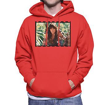 Xena Warrior Princess Spying Men's Hooded Sweatshirt