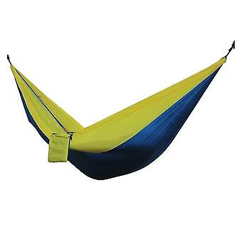 2 People Portable Parachute Hammock And Flyknit Hunting Leisure Hamack