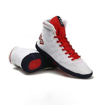 Men Boxing, Rubber Outsole, Breathable Shoes For Wrestling