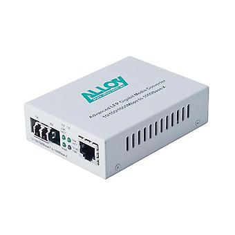 Alloy Gcr2000Lc Gigabit Standalone Rackmount Media Converter