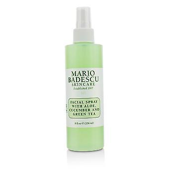 Mario Badescu Facial Spray With Aloe, Cucumber And Green Tea - For All Skin Types 236ml/8oz