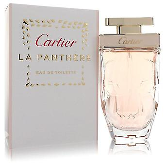 Cartier la panthere eau de toilette spray by cartier 555500 75 ml