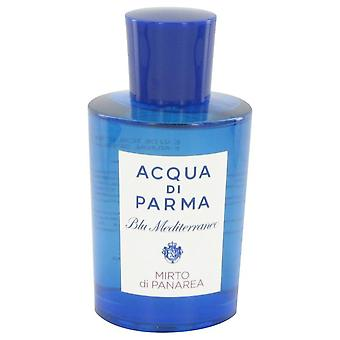 Blu Mediterraneo Mirto Di Panarea Eau De Toilette Spray (Unisex Tester) By Acqua Di Parma 5 oz Eau De Toilette Spray