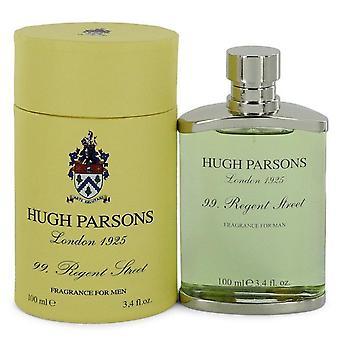 99 Regent Street Eau De Parfum Spray By Hugh Parsons 3.3 oz Eau De Parfum Spray