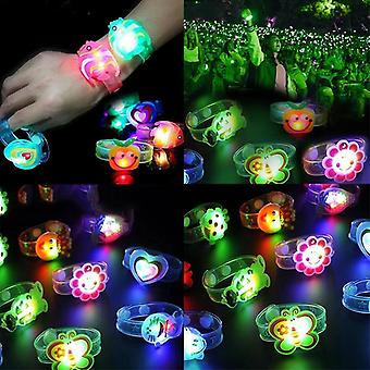 Cute Kid Watch Wrist Strap Band With Luminous Led Lights For Sport Electronic