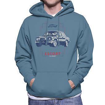 Ford Escort RS1600 Heren Sweatshirt met Capuchon
