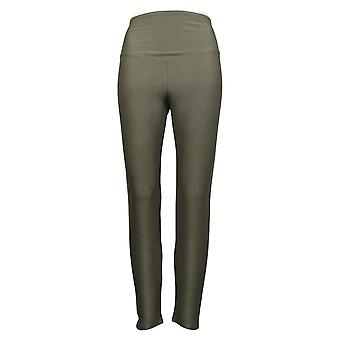 Yummie Women's Pants Stretch Twill Pant With Back Pockets Green 686028