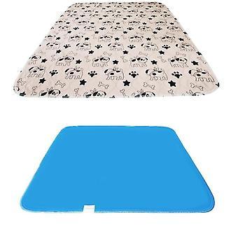Wasserdichte wiederverwendbare Hund Bett Matten schnell absorbierenPad Teppich