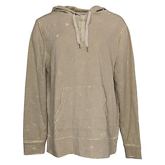 Koolaburra by UGG Women's Sweater Vintage Wash French Terry Beige A386470