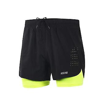 Shorts de ginástica esportiva