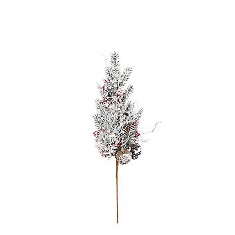 Vaaleampi oksa 65 x 10 cm valkoinen